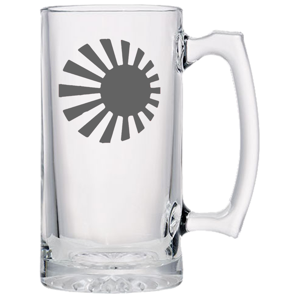Axis & Allies Japanese Roundel Beer Mug
