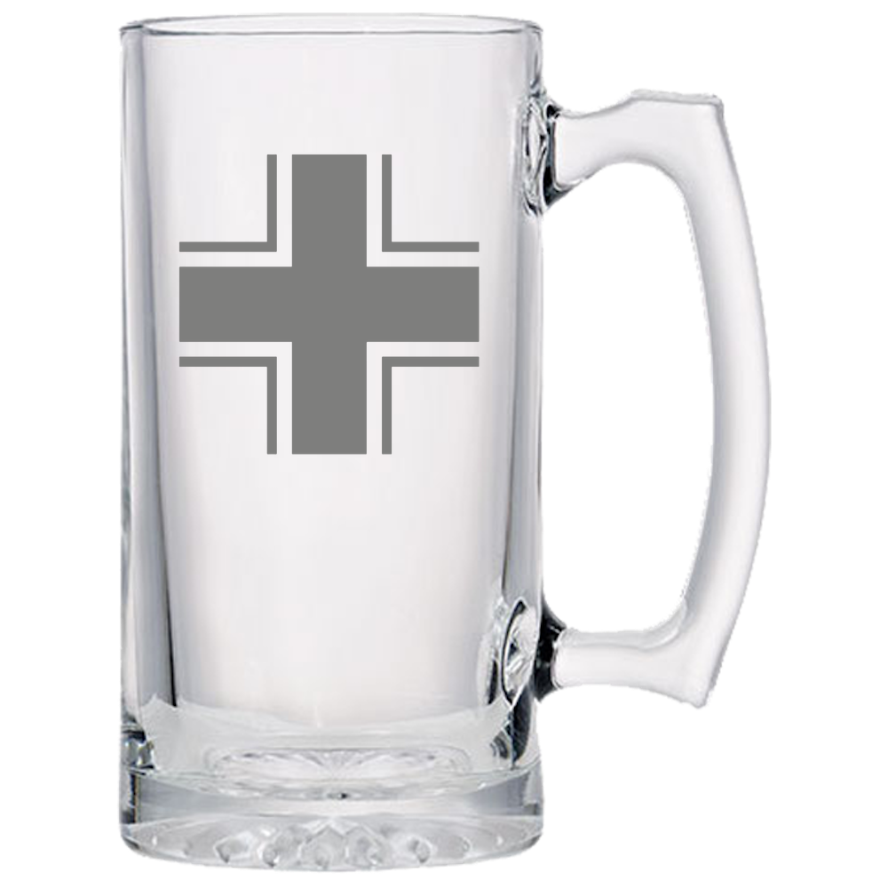 Axis & Allies German Balken Cross Beer Mug