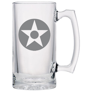 Axis & Allies  US Star with Red Dot Roundel Beer Mug
