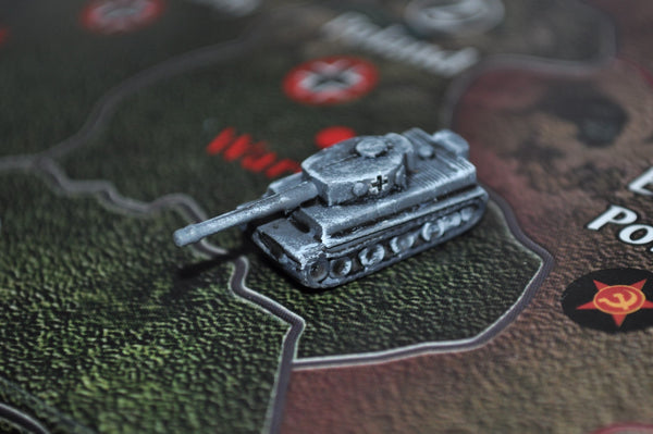 1/285 Custom Painted German Tiger I Tank 3-Pack