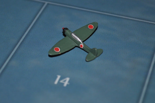 "Custom Painted Japanese ""Val"" Tactical Bomber in Green"