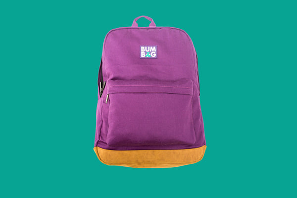 Scout Backpack Bumbag- Purple