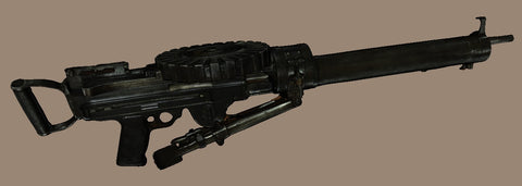 3D scan of a heavy machine gun Maxim