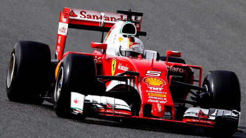 Ferrari's 3D printing applications on formula 1 prototype