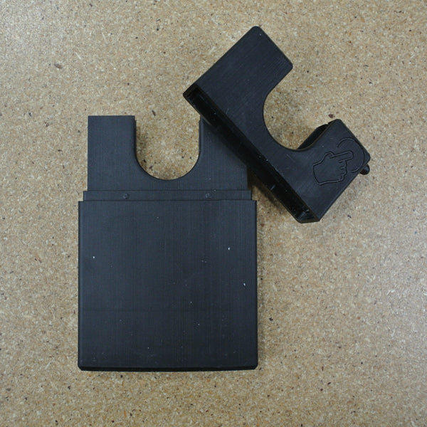 3D Printed Sanitizing Wallet with Door Hook & Holster Option
