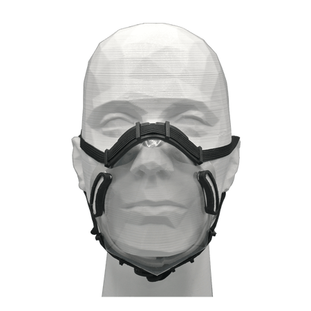 Reusable 3D Printed PC Rapid Production Face Shield 3-Pack (Pending NIH Approval)