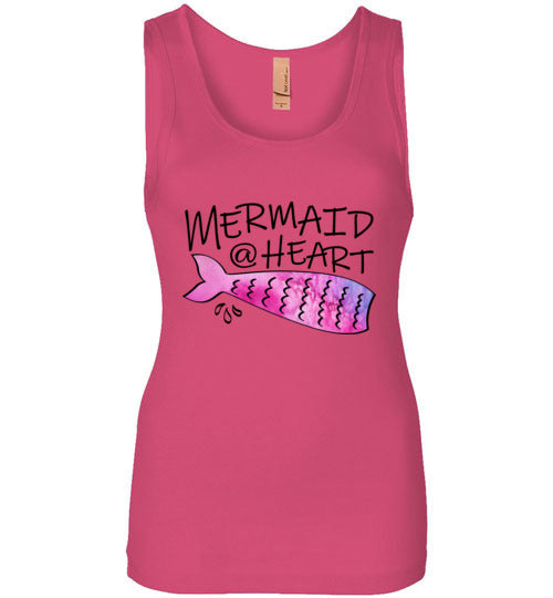 Mermaid At Heart Ladies Sleeveless Tank