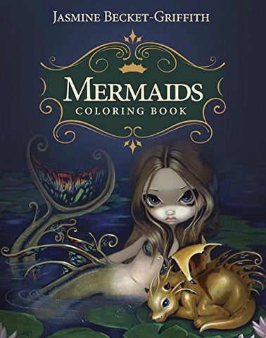 Mermaids Coloring Book: An Aquatic Art Adventure