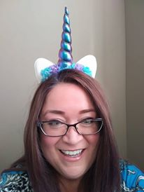 Unicorn Headband with Colorful Flowers, Satin Horn and Glittery Ears! Celebrate YOUR Inner Unicorn!