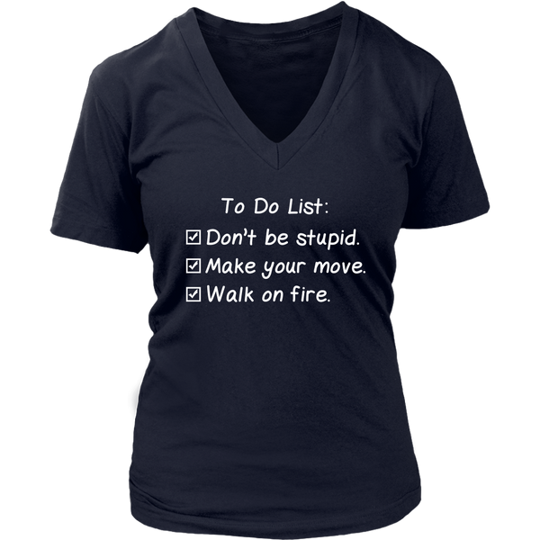 To Do List T-Shirt