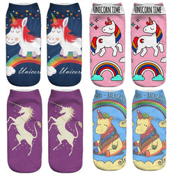 UNICORN SOCKS! YES! Smile all day when you're wearing adorable unicorns!! FREE SHIPPING!