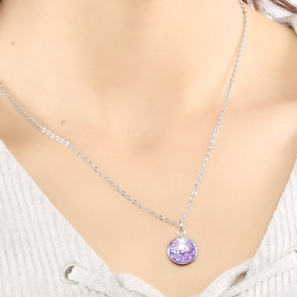 Mermaid Scales Shiny Charm Necklace