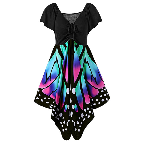 A Dress To Swoon Over! Spread Your Beautiful Wings and Fly! Gorgeous Plus Size Butterfly Dress!