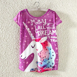 Unicorn Dreamer T-Shirt - May All Your Dreams Come True!
