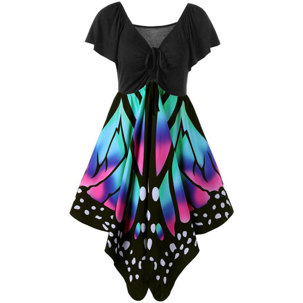A Dress To Swoon Over! Spread Your Beautiful Wings and Fly! Gorgeous Butterfly Dress in sizes 6-12!