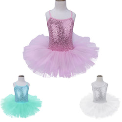Every Little Girl's Fantasy Mermaid Tutu in 3 colors! Perfect for Gymnastics, Dance Class or Just Playing Dress Up! Ages 5-8