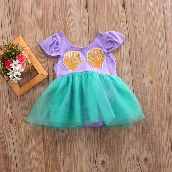 Adorable Mermaid Tutu! 3 - 18 months. So cute for Halloween babies!