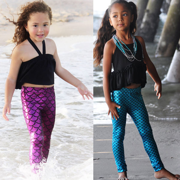 Mermaid Leggings for Babies to 5T - FREE SHIPPING!