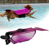 Mermaid Life Vest for Your Pup - Dog Life Jacket