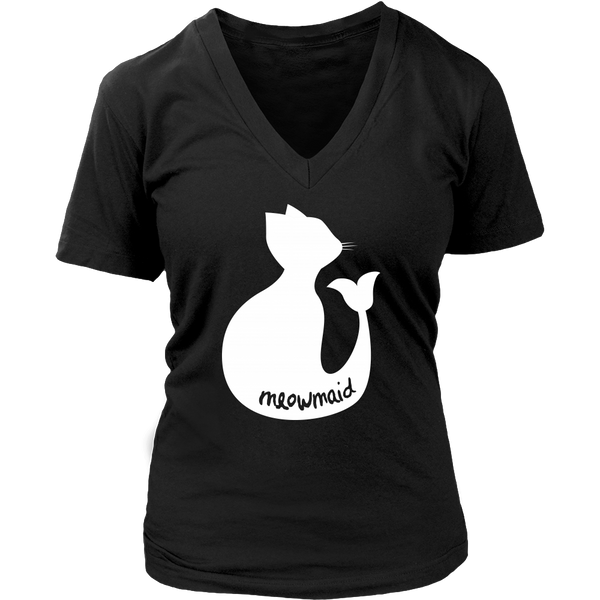 Catfish or Meowmaid? Super Soft Tee for Cat Loving Mermaids! 6 Colors