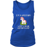 Women's Shirt - I'm A Unicorn, What's Your Superpower? FREE SHIPPING!