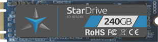 Star Drive SATA SSD showing label with 240GB capacity