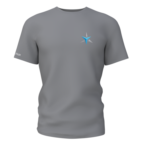 Star Labs Stretch T-Shirt showing front with logo in Black