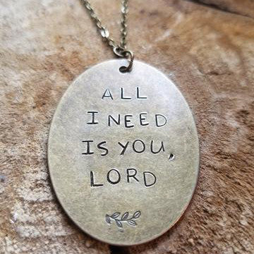 All I Need Is You, Lord