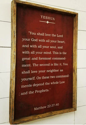 You Shall Love the Lord Your God