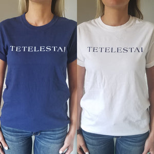 Navy/White TETELESTAI T-Shirt