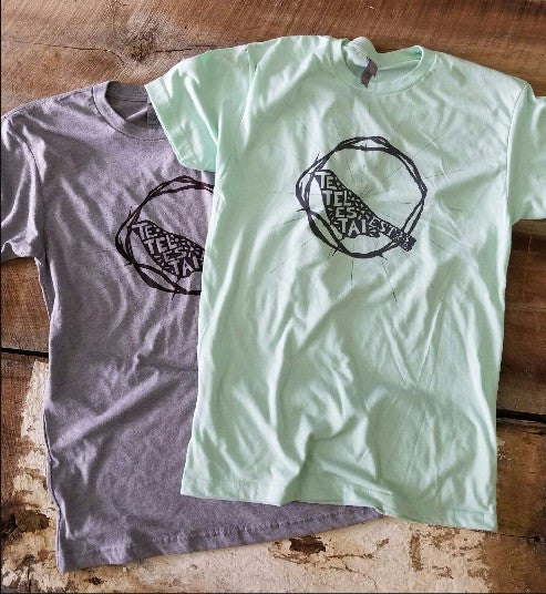 TETELESTAI Logo T-Shirt (Grey or Mint)