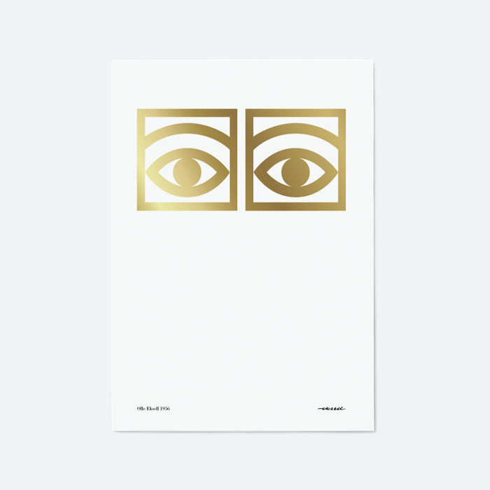 ÖGON CACAO EYES (GOLD)