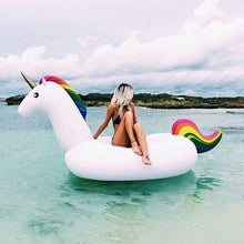 Gigantic 6.5' Inflatable Unicorn, Beach Accessories - GLgear.com
