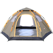 Instant Family Tent - Waterproof 5 Person Large Automatic Pop Up Tent, Camping & Hiking - GLgear.com