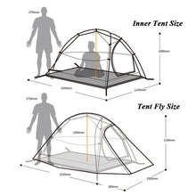 Ultralight 2.6 LB 2 Person Backpacking Tent, Tent - GLgear.com