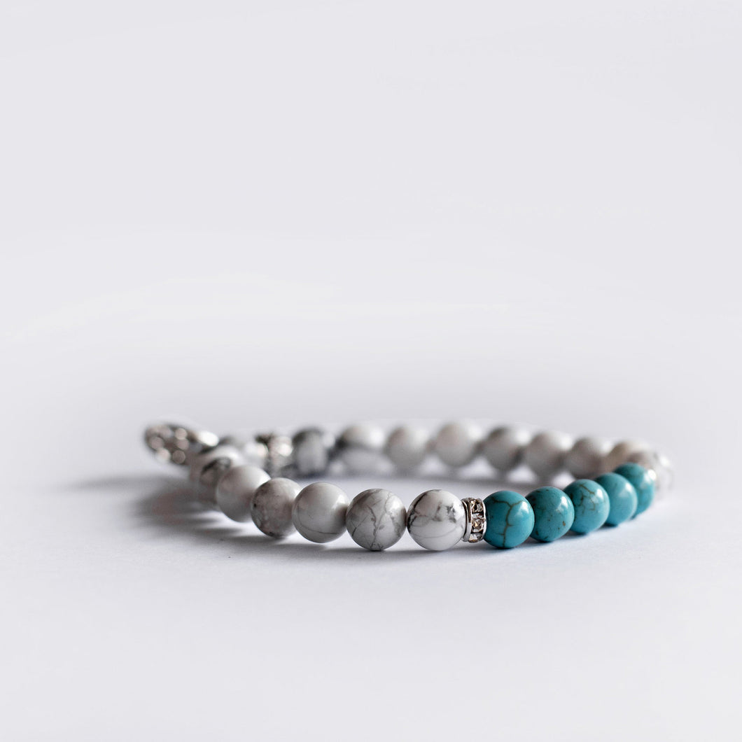 Pregnant Mother Bracelet - Turquoise