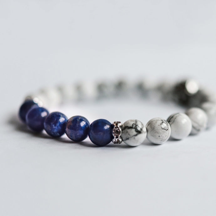 Mothers of Children with Different Abilities, Health Concerns or Born Prematurely Bracelet - Lapis Lazuli