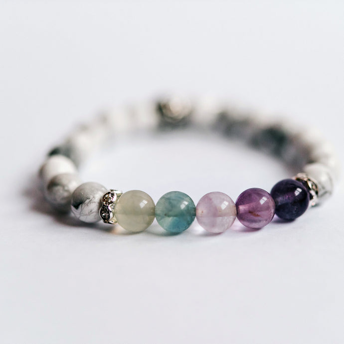 Mood Disorder past or present Bracelet - Flourite