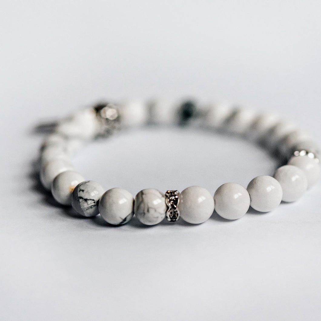 Mothers (all ages and journeys) Bracelet - White Jade