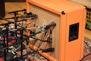 Mic Combo Pack #1 SM57+Royer 122v Bogner 4x12, Orange 4x12 at multiple frequencies