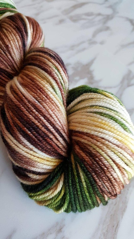 Metamorphic Worsted Weight Yarn - Brochantite