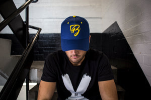 Limited Edition Navy & Yellow Trucker Cap