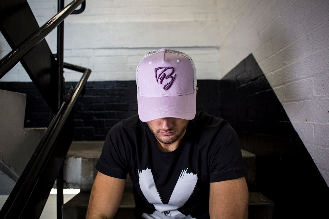 Limited Edition Purple Mesh Trucker