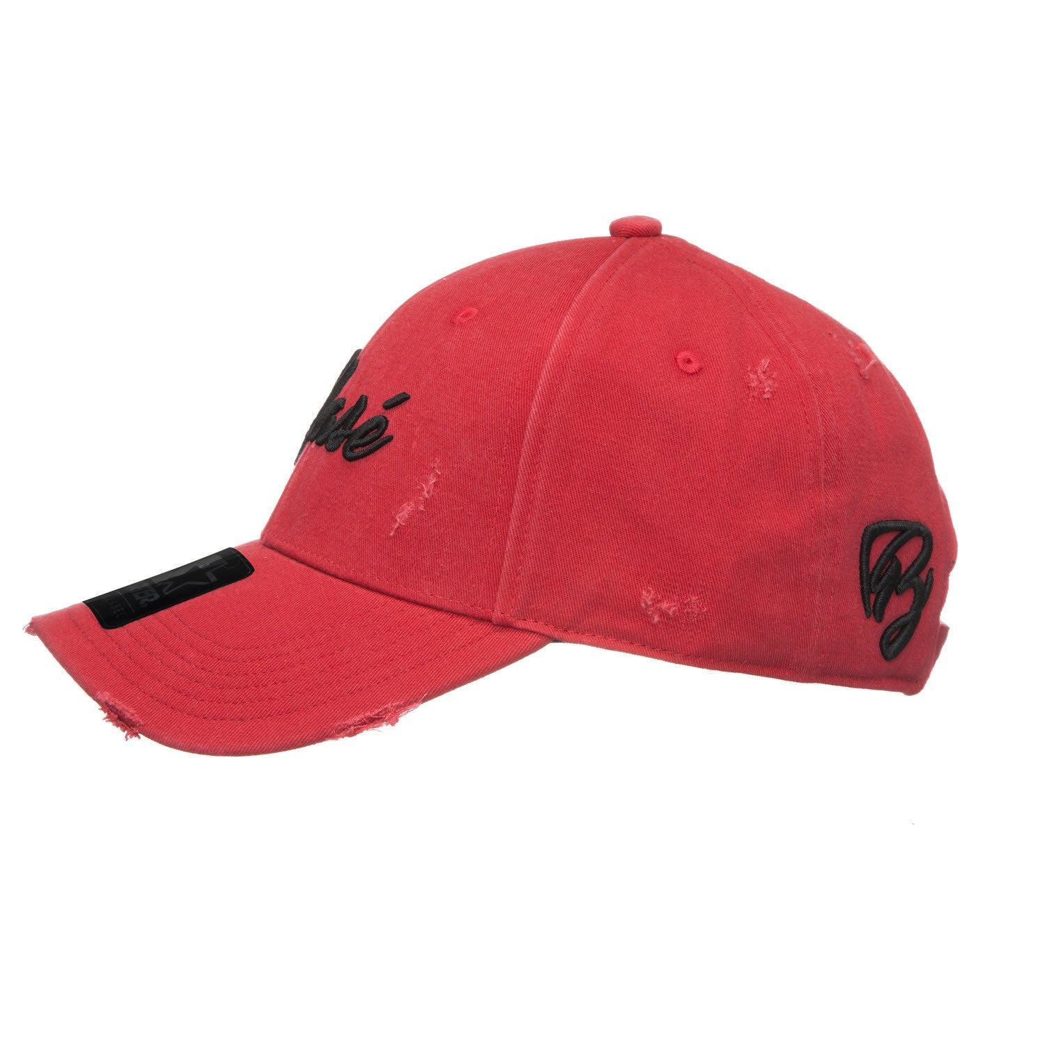 Red Pitcher Curved Visor - BLASE HAT