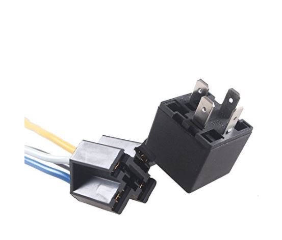 Astonishing 30 40 Amp Relay Harness Spdt 12V Bosch Style Onpoint Avl And Wiring Digital Resources Attrlexorcompassionincorg