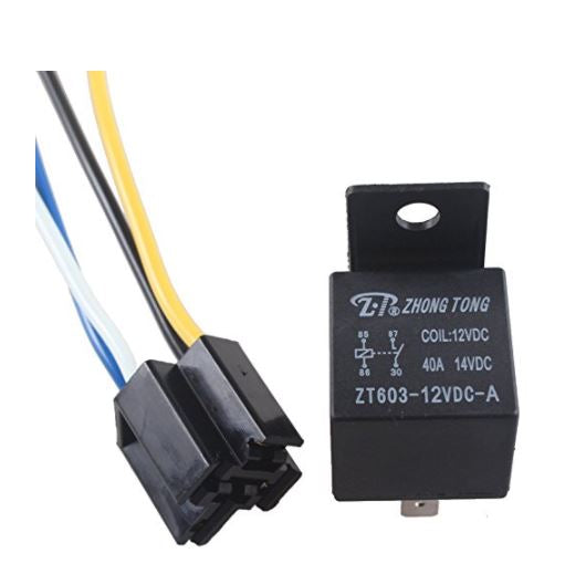 Awe Inspiring 30 40 Amp Relay Harness Spdt 12V Bosch Style Onpoint Avl And Wiring 101 Photwellnesstrialsorg