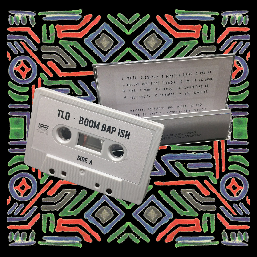 TLO - boom bap ish (Limited Edition Cassette)