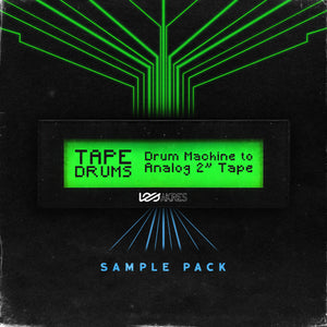 "Tape Drums - Drum Machine to Analog 2"" Tape (WAV Sample Pack)"