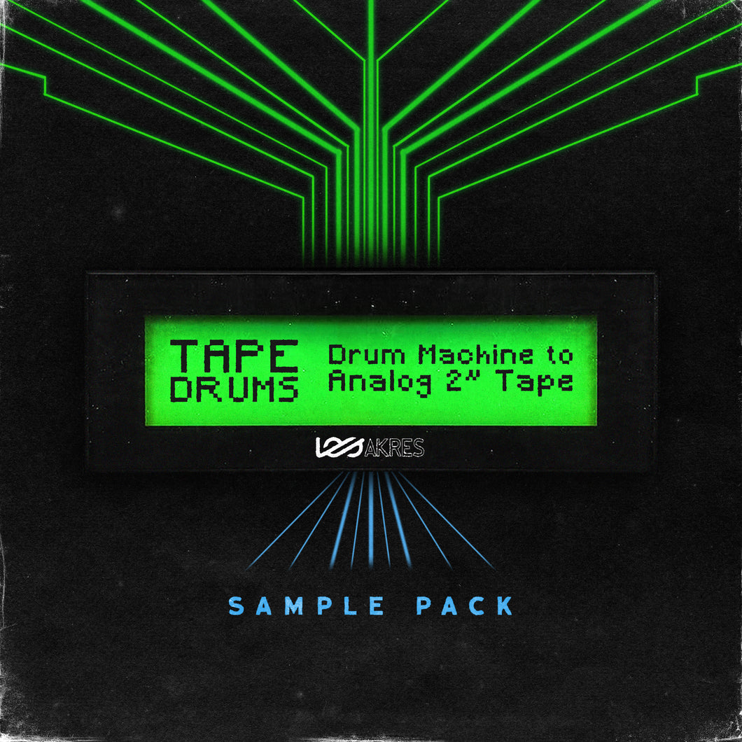 Tape Drums - Free Drum Sample Pack