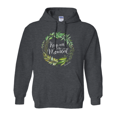 Keep Me In The Moment - Wreath - Hoodie - Light